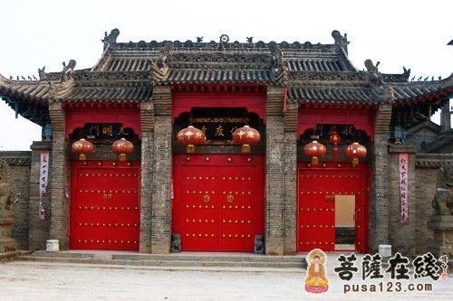 陕西乾县化度寺