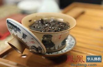 在僧人眼中 茶并非只是一碗普通的茶