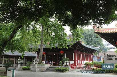 广州这座寺院有近1400年历史 曾是东吴大臣家宅