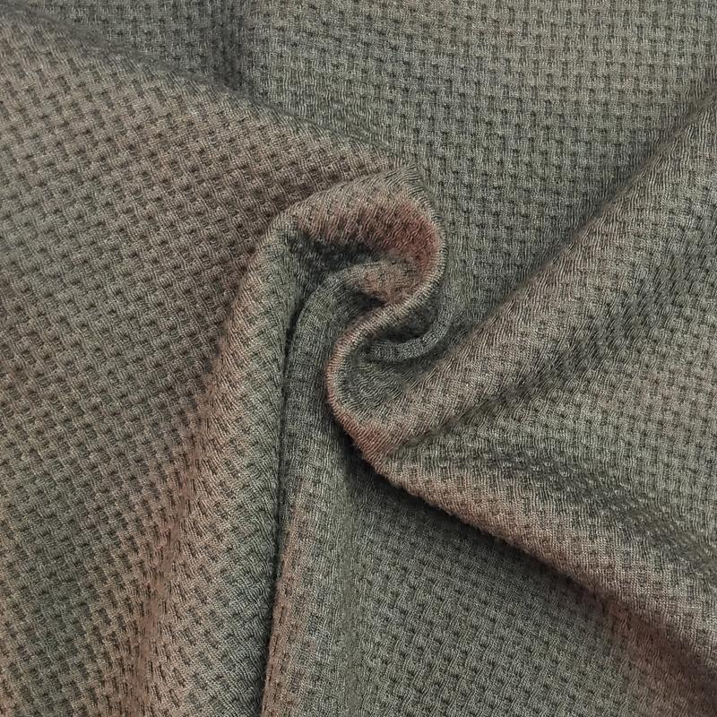厂家直销280克涤纶针织布罗马布 针织面料纬编罗马布可定制批发
