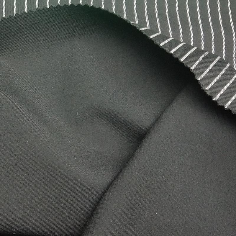 厂家直销 定做 细条罗马布面料.服装裤装裙装细条罗马布针织面料