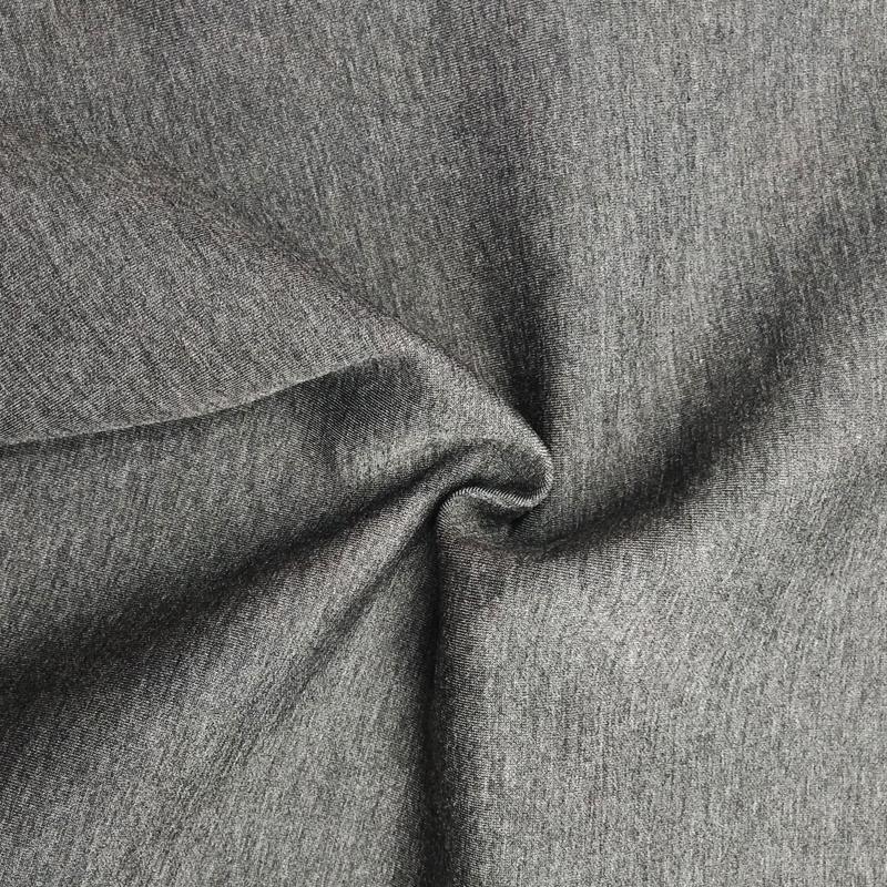 厂家直销T/R空气层太空棉布料时尚女装棒球服外套针织服装面料