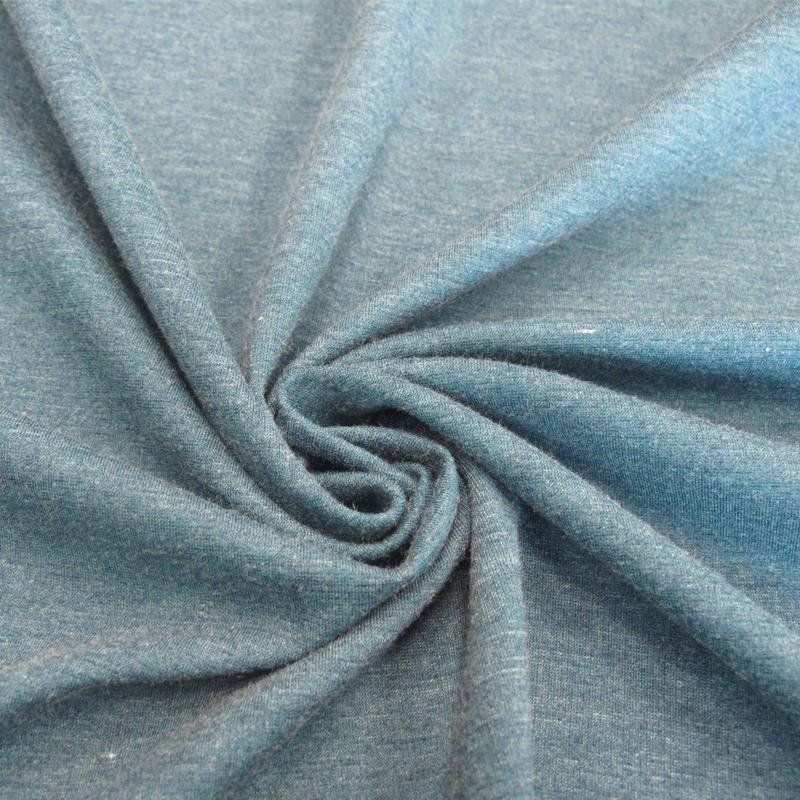 厂家直销R/T/N针织罗马布 30S纬编彩麻罗马布 女装专用打底裤面料