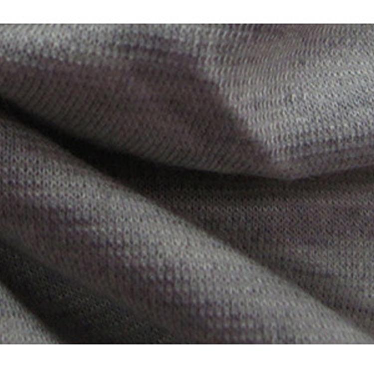 厂家直销R/T染色罗马布 浅灰色纬编罗马布 样布销售染色R/T罗马布