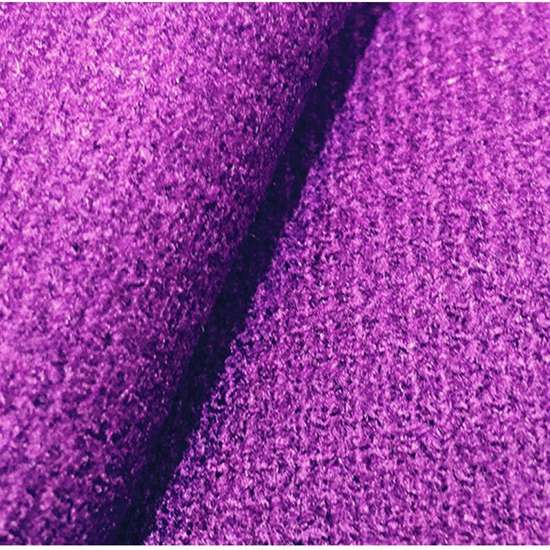 厂家直销纬编粗针刺毛布 服装专用针织面料 机缸染色针织面料批发