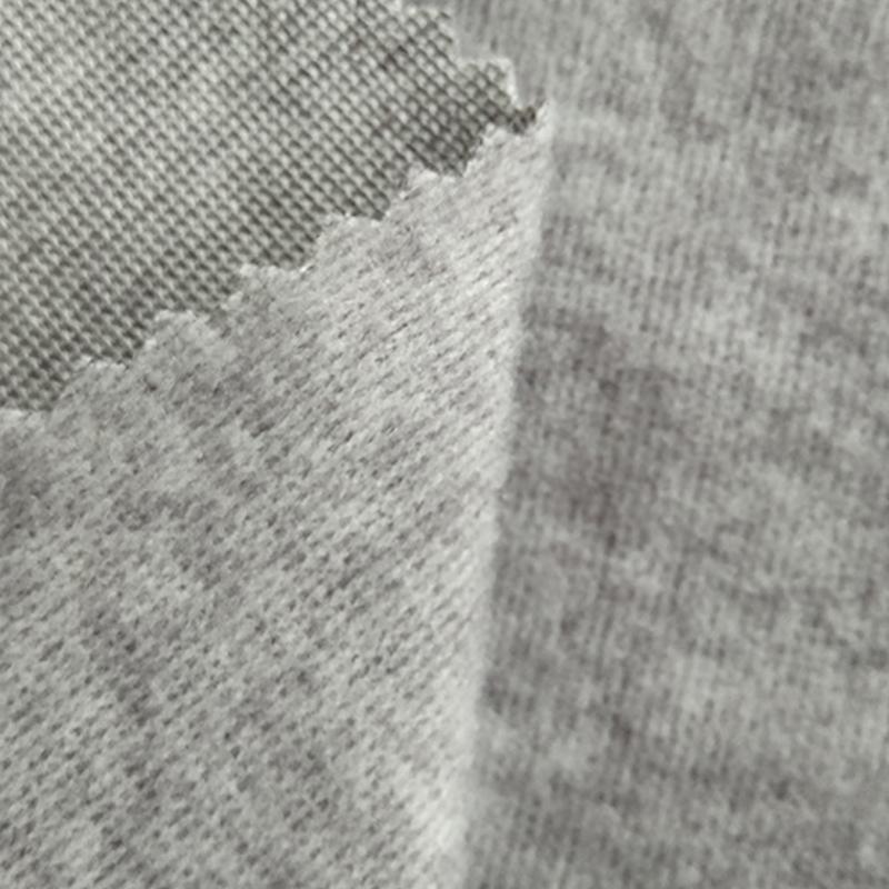 厂家直销 RT色织罗马布拉毛 秋冬面料 服装面料打底裤 辅料