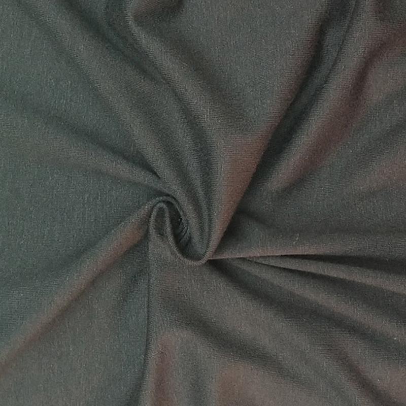 厂家直销30S人棉氨纶气流纺汗布 弹力汗布 服装裤装面料批发