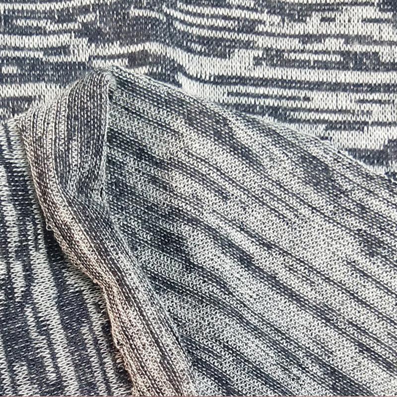 厂家直销涤棉缎彩弹力粗针罗马布 纬编罗马布 休闲粗针面料批发