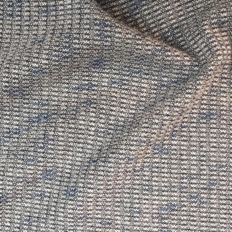 工厂直销涤腈粗针 腈毛粗针面料 涤腈色织粗针 爆款针织粗针