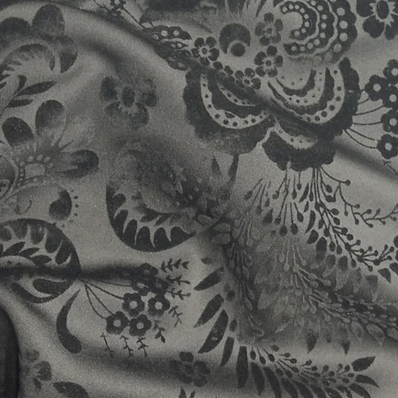 厂家直销全涤空气层植绒面料 时装面料 全涤罗马布批发 修改
