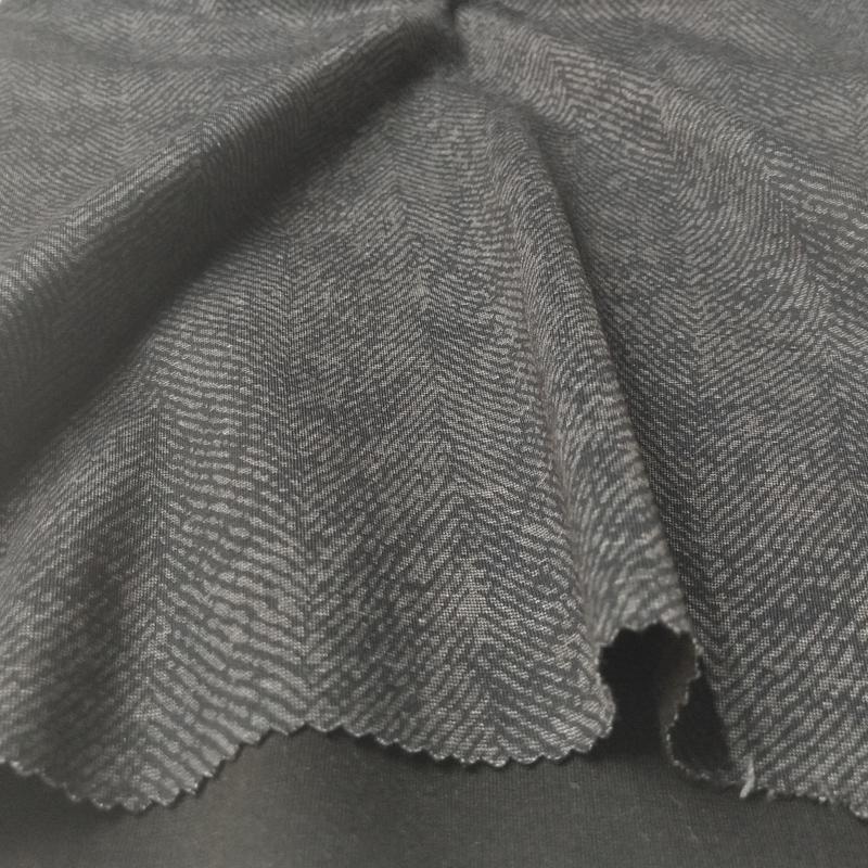 30SR环纺 NR罗马布面料 R/T/N/SP双面罗马布印花 斑马纹面料