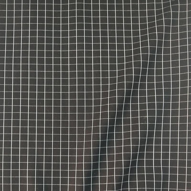 50S格子布女装打底裤 裙子等热销格子罗马面料 NR罗马布