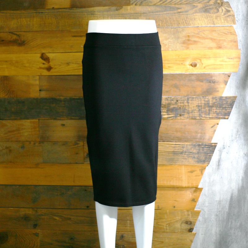 黑色开叉包臀半身裙女秋冬2018新款高腰显瘦一步裙中长裙