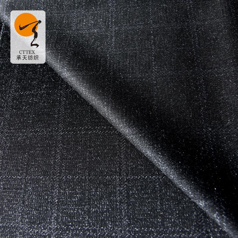 40sRT格子罗马布 时尚女装女裙RT提花罗马布 涤棉罗马布厂家直销