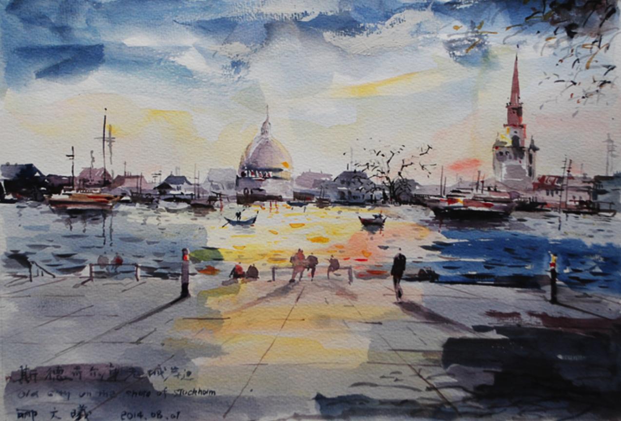 北欧写生  Nordic Watercolor