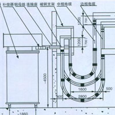 炼钢电弧炉短网
