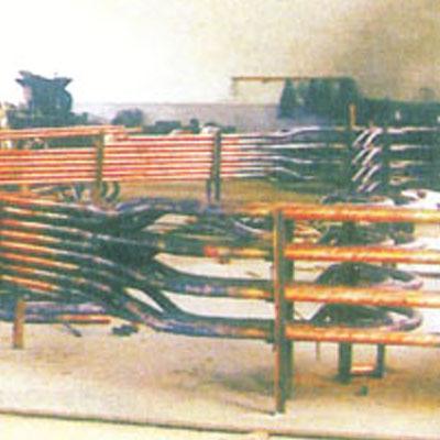 矿热炉短网