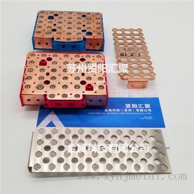 汇流排厂家专业定制电池铜镍复合汇流排