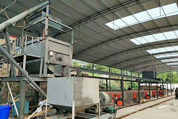 轻质隔墙板生产线 天津某建材公司技兜兜转转遇到你
