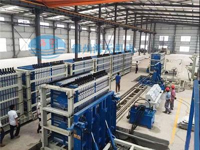 复合墙板设备生产线