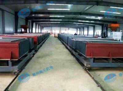 轻质隔墙板设备生产线
