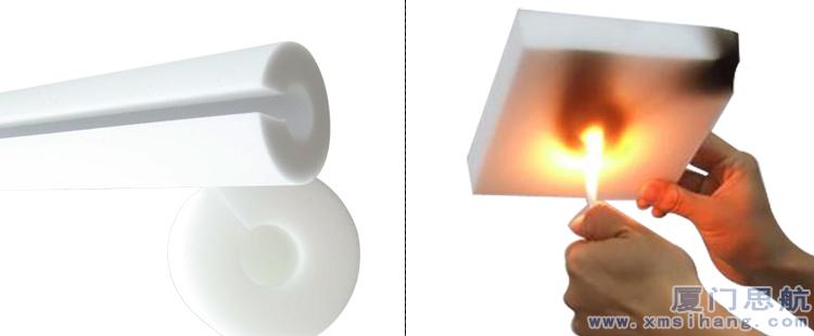 三聚氰胺泡沫塑料网状结构防火性能