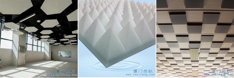 厦门思航吸音材料密胺海绵具备良好的二次加工性能和便于安装的特性