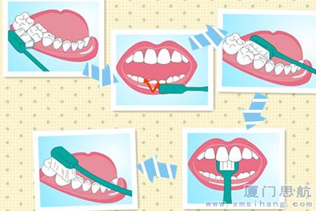 正确洁牙方式