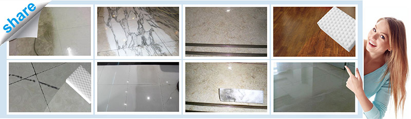 Magic Tile Eraser cleaning kinds of tilewood floormarble stubborn dirt imprinting scratch marks