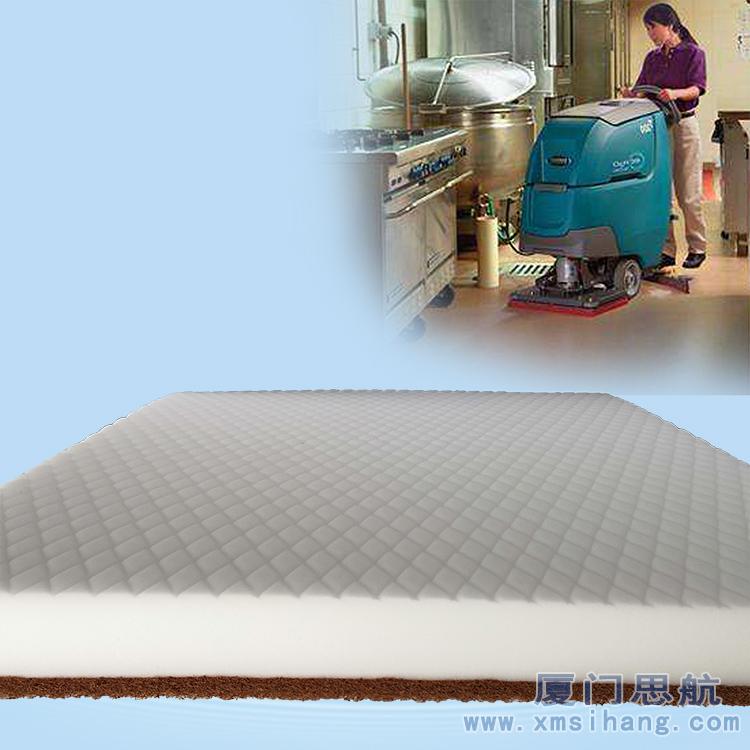 洗地机耗材密胺海绵百洁垫