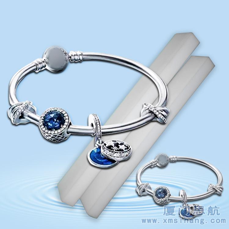 珠宝首饰保养新材料 密胺神奇海绵清洁手印汗渍只需清水 不伤饰品
