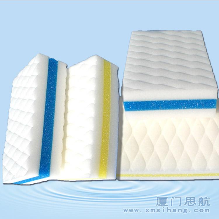 三层纳米海绵含肥皂
