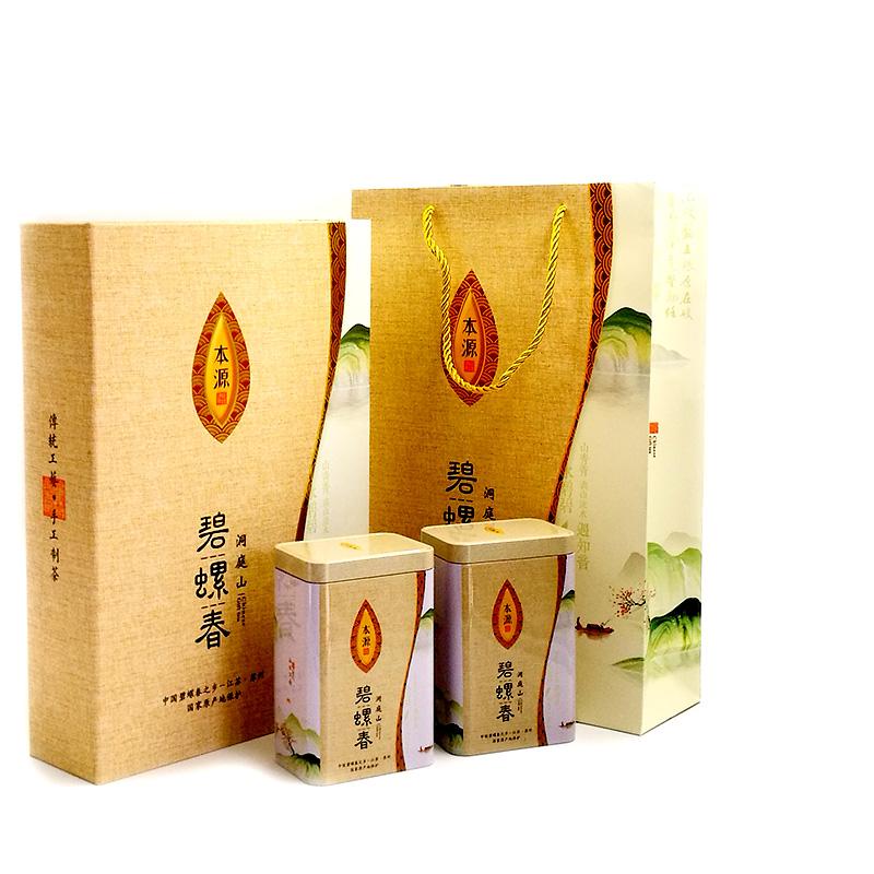 宝林茶铺碧螺春2019新茶雨前春茶正宗散装茶叶礼盒装浓香型绿茶