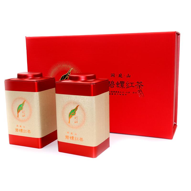 宝林茶铺碧螺春浓香型红茶茶叶春茶明前二级碧螺红茶250克礼盒