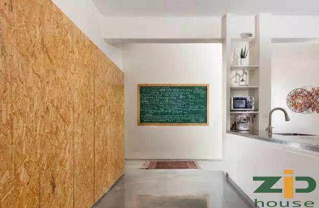 輕鋼別墅 · OSB板