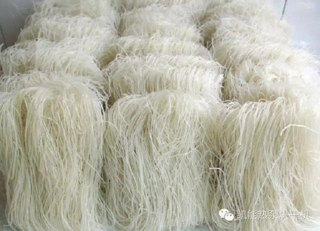 空气能烘干除湿机在烘干米粉的应用