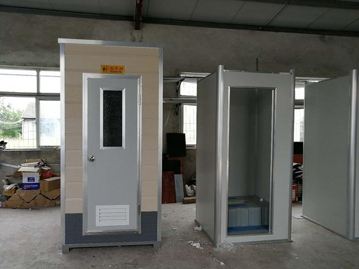 金属雕花板单体移动厕所_景区卫生间厂家