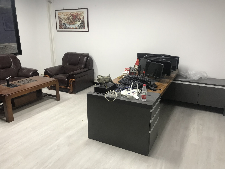 5.2太好刷科技公司办公室·片材PVC地板案例
