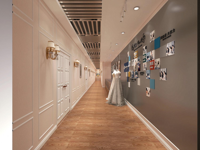 7.8化妆美容培训中心 | 片材PVC地板铺装案例