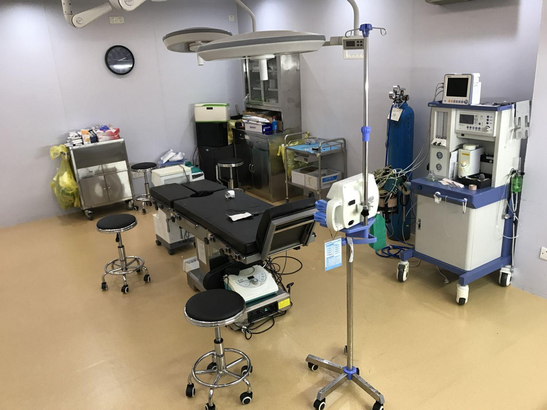 6-28<姬研医学美容院>地板升级装修 PVC地板施工案例