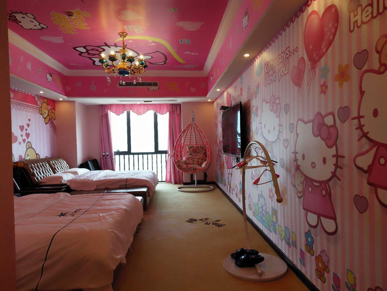 9-29番禺万达广场主题式酒店 客房PVC胶地板铺装