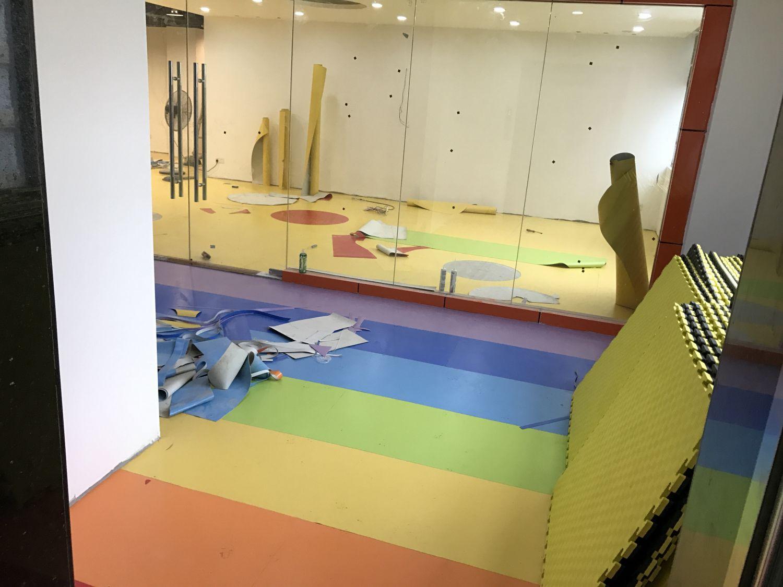8-30广艺文化培训中心(海珠校区)PVC胶地板施工案例