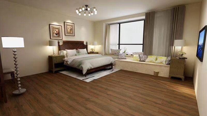 6-27广州海珠区家庭地板装修 石塑锁扣PVC地板案例