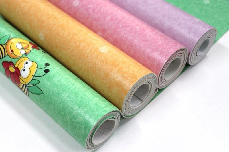 发泡弹性PVC胶地板