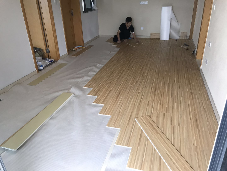5.26实地常春藤第四期家居|SPC锁扣地板案例