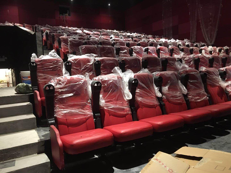 1.24新塘红星电影院4个影厅·片材PVC地板铺装