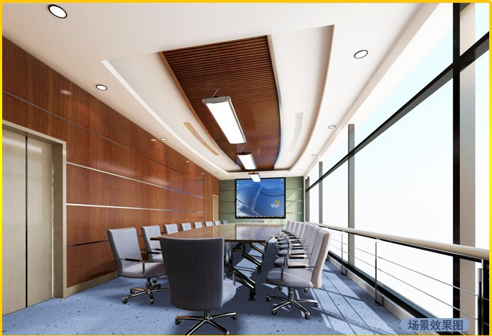 3.30医疗产品公司办公室·卷材PVC地板铺装