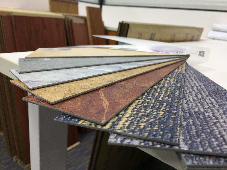 刷胶片材PVC地板·木纹/石纹/毯纹系列