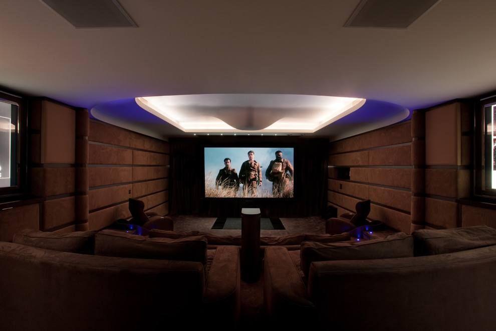12-14阳普医疗设备公司·影音室舞台 PVC胶地板案例