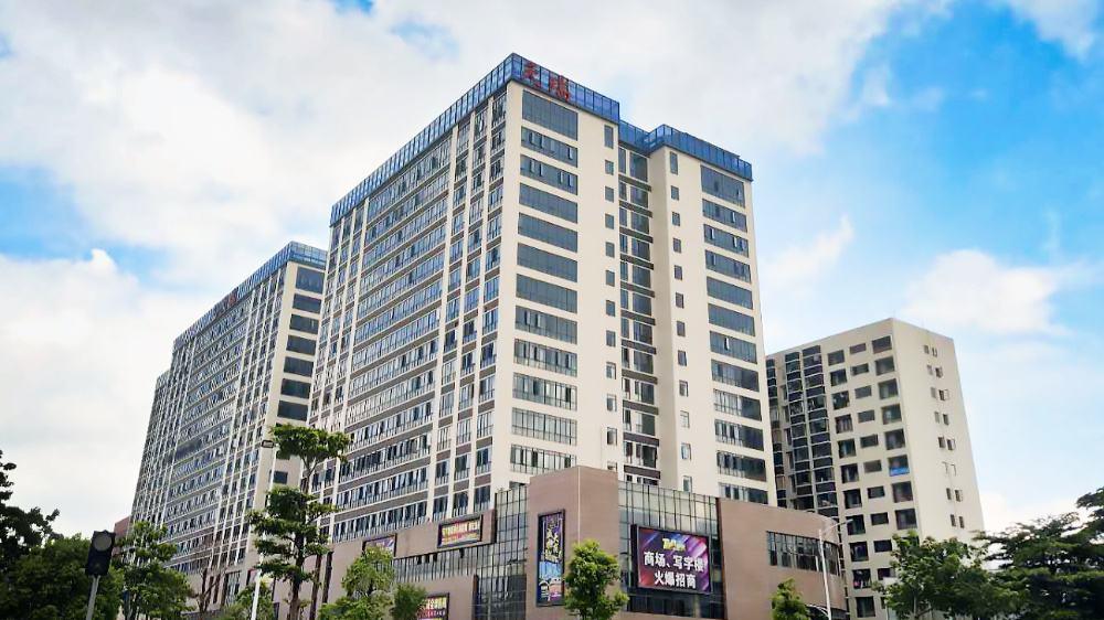 7.2天瑞广场写字楼办公室 | SPC锁扣地板铺装案例